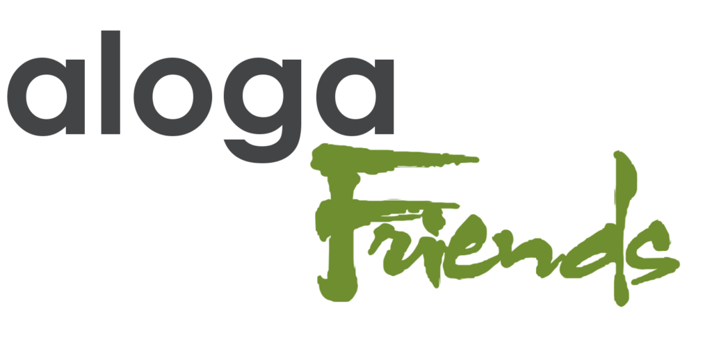 Logo aloga Friends